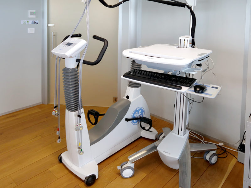 Machine du cardiologue